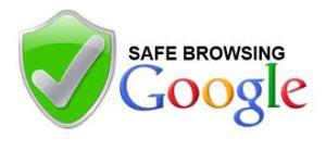 Wie stuft Google unsere Homepage zum Thema Browser-Sicherheit ein?